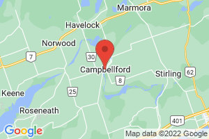 Map of Campbellford