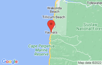 Map of Yachats