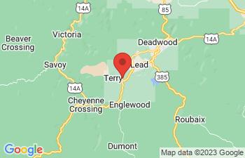Map of Terry Peak