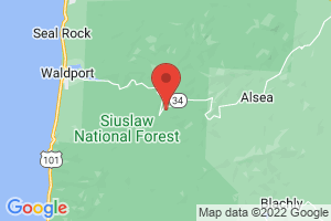 Map of Suislaw National Forest