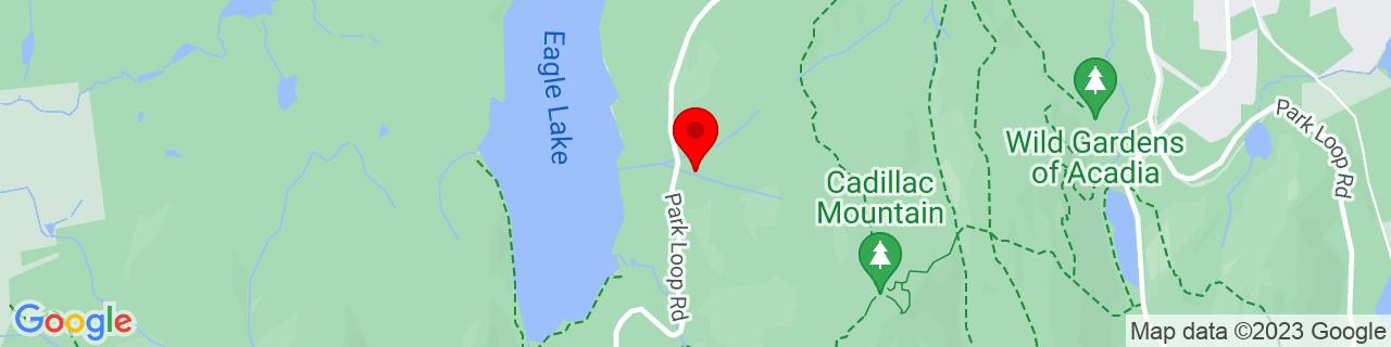 Google Map of 44.3593788146973, -68.2397308349609