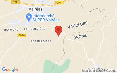 Route De Vinsobres - Chemin De Sainte Croix, 84600 ValrÉas