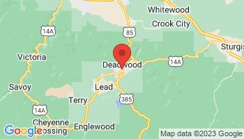 Map of Deadwood