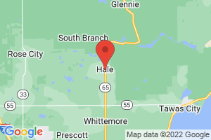 Map of Hale