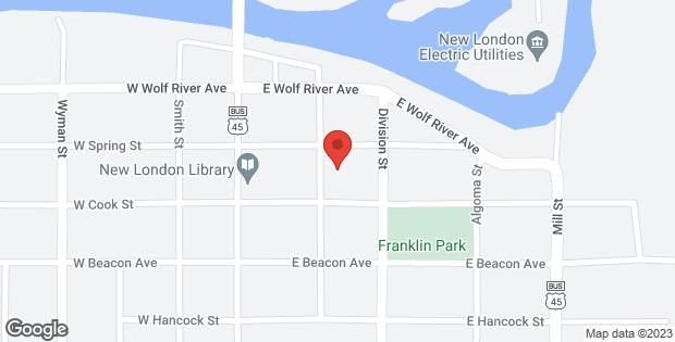 404 LAWRENCE Street New London WI 54961-1461