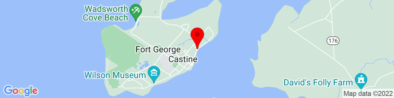 Google Map of 44.3908441, -68.7949397
