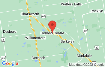 Map of Holland Centre