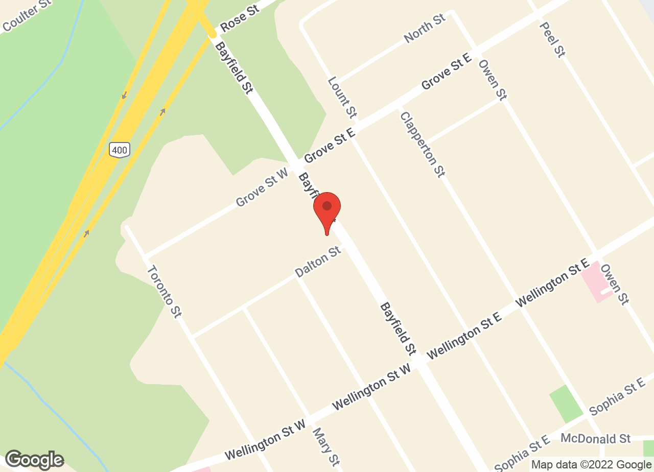Google Map of Barrie Veterinary Hospital
