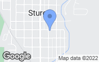 Map of Sturgis, SD