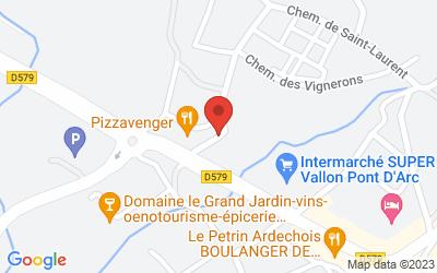 rte de Ruoms Le Colombier, 07150 VALLON PONT D'ARC