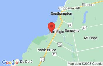 Map of Port Elgin