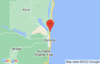 Map of Oscoda