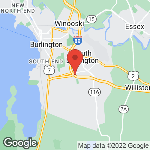 State of Vermont Liquor Outlets on the map