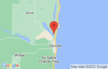 Map of Oscoda