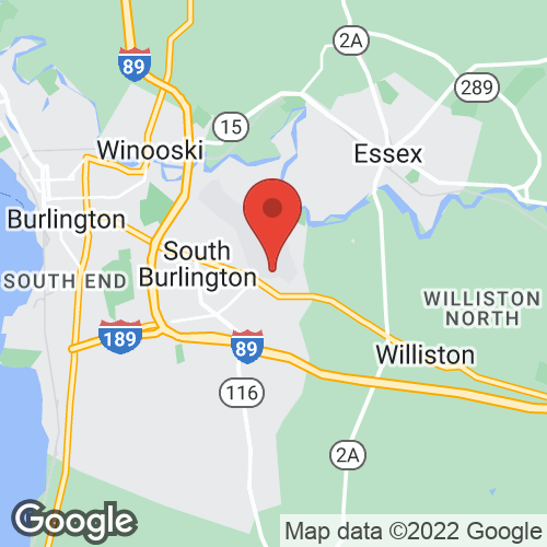 Vermont Aviation on the map