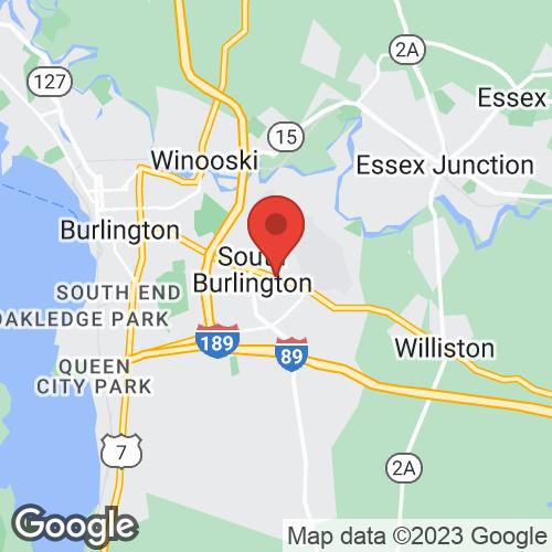 Burlington Podiatry Center on the map