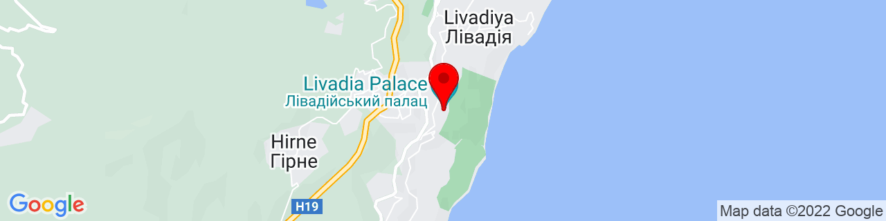 Google Map of 44.46768669999999, 34.143532999999934