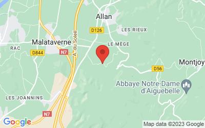 ChÂteau Bizard 460 Chemin De Bizard, 26780 Allan