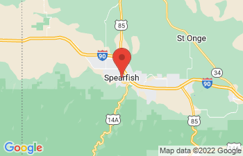 Map of Spearfish