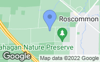 Map of Roscommon, MI