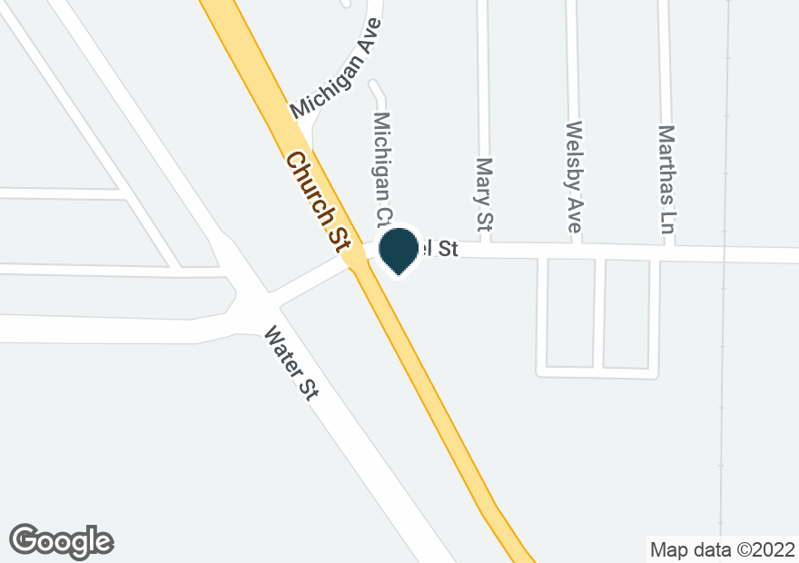 Google Map of3301 CHURCH ST