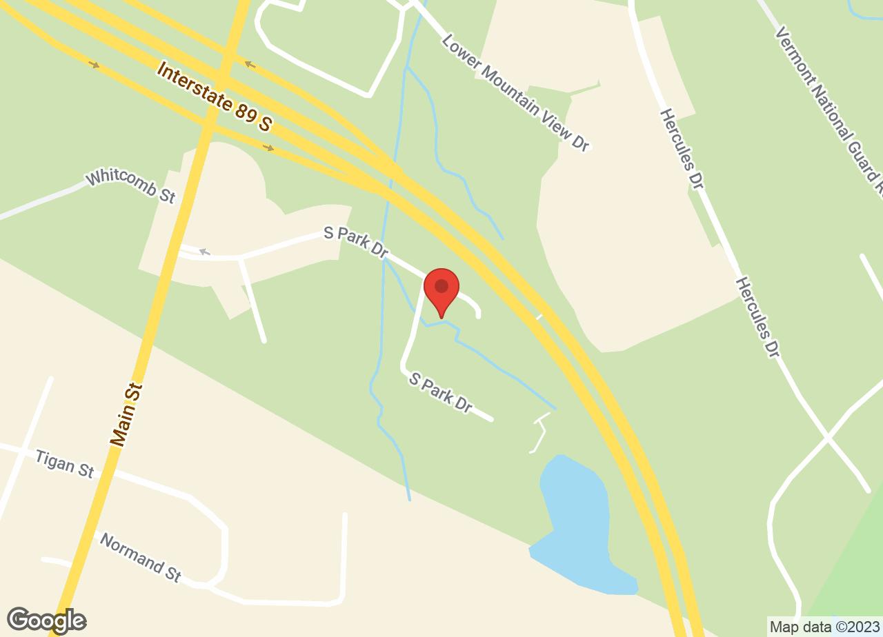 Google Map of VCA Fitzgerald Animal Hospital