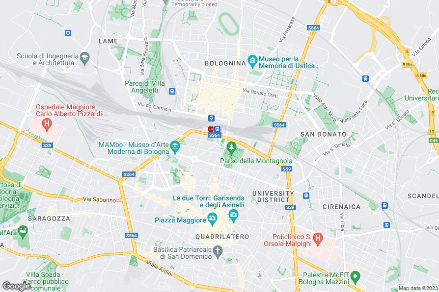 Hotel De La Gare Bologna