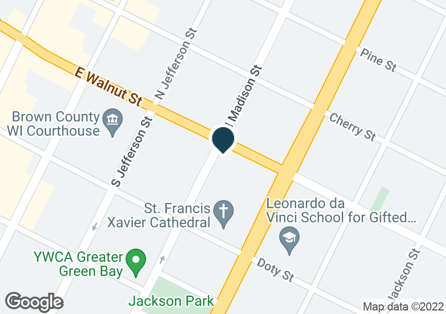 Google Map of500 E WALNUT