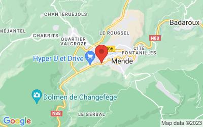 22 Avenue des Gorges du Tarn, 48000 Mende, France