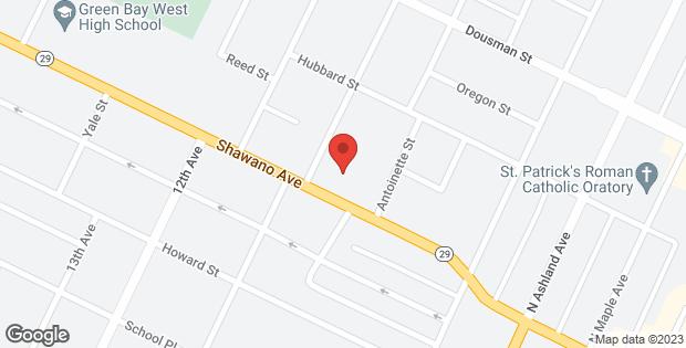 860 SHAWANO Avenue Green Bay WI 54303