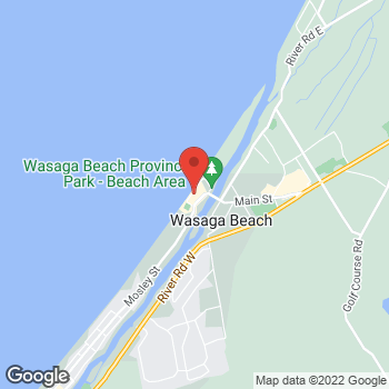 Map of Burger King at 43 Beach Rd Unit C, Wasaga Beach, ON L0L 2P0