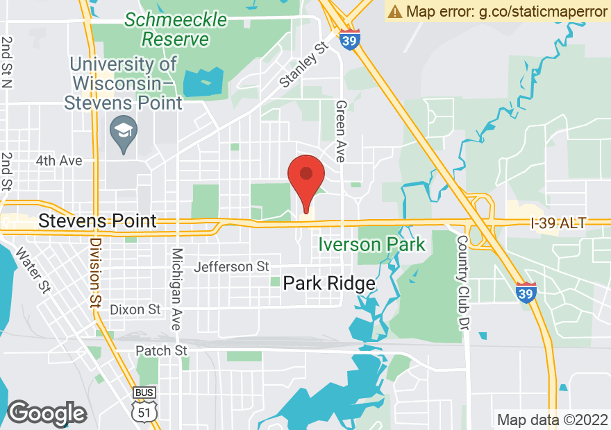 Google Map of 10 PARK RIDGE DR