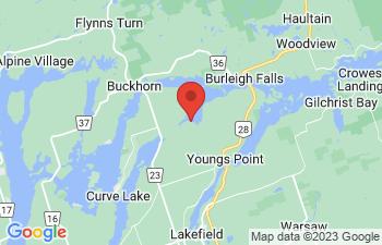 Map of Buckhorn
