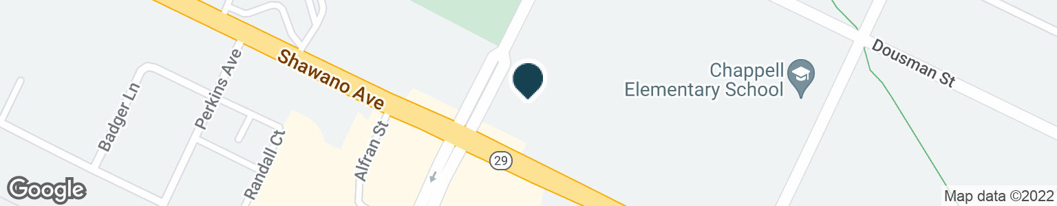 Google Map of116 N MILITARY AVE