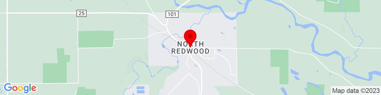 Google Map of 44.5632931, -95.09444239999999