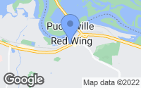 Map of Red Wing, MN