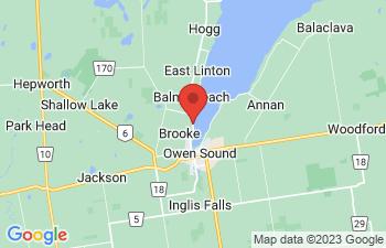 Map of Owen Sound