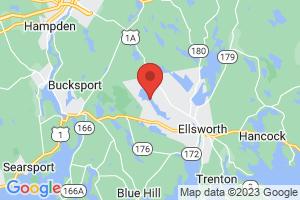 Map of Branch Lake