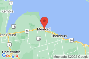 Map of Meaford