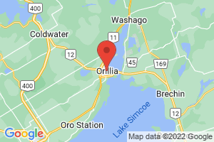 Map of Orillia