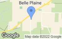Map of Belle Plaine, MN