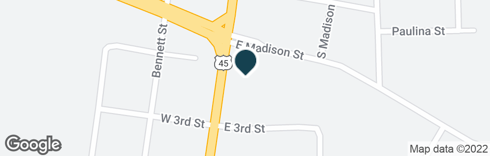 Google Map of201 S MAIN ST