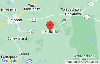 Map of Parishville