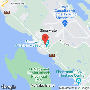 Map of Tim Hortons at 20 Provider Rd, Shearwater, NS B0J 3A0