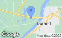 Map of Durand, WI