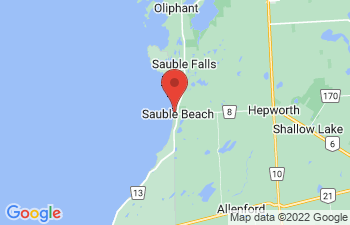 Map of Sauble Beach