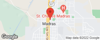 Mapa de 72 SE 6th St en Madras