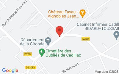 44 Chemin de Toinette, 33410 Cadillac, France