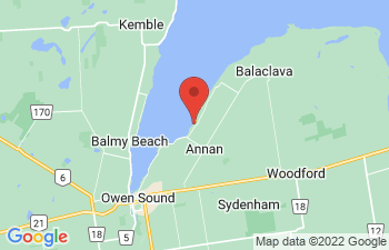 Map of Annan