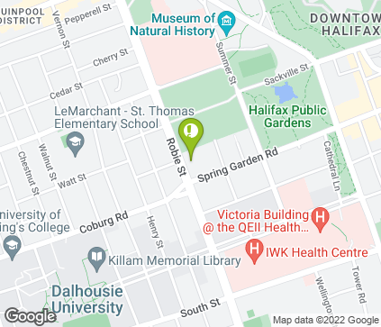 Map of 5991 Spring Garden Rd in Halifax